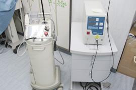レーザー注射器のイメージ